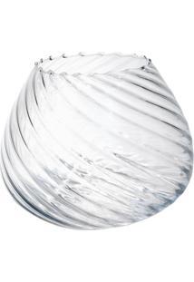Vaso Bianco & Nero Moon 15,5X19Cm Transparente