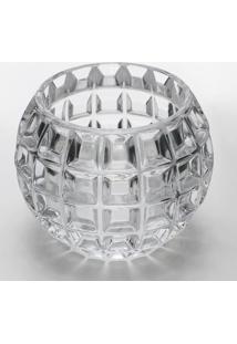 Vaso Rose M- Cristal- 10,8Xã˜13Cm- Rojemacrojemac