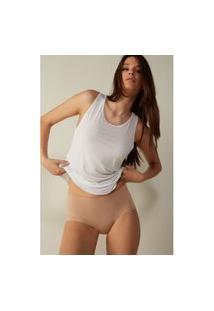 Blusa Em Modal Ultralight Com Seda - Branco G Intimissimi