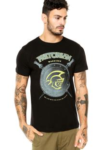Camiseta Pretorian Warriors Preta