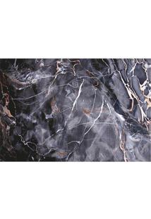 Tapete Transfer Mã¡Rmore- Cinza Escuro & Branco- 60X4Tapetes Junior