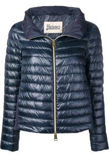 Herno Short Puffer Jackets - Azul