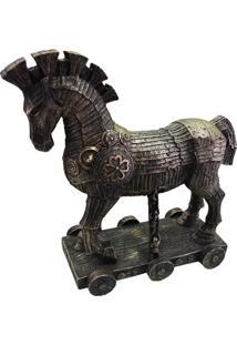 Enfeite Cavalo De Troia Em Resina