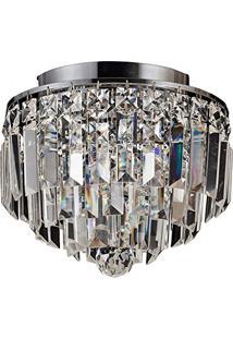 Plafon Kri Cristal Transparente Hu1100 4G9 25X21,5Cm Bella