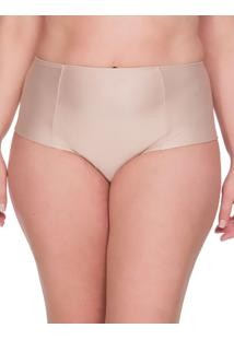 Calcinha Lateral Dupla Plus Size - Skin - 1Xl