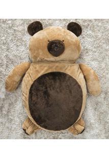 Puff Gigante Para Dormir Pelúcia Urso Grande Com 1 Peças - Enxovais Ibitinga