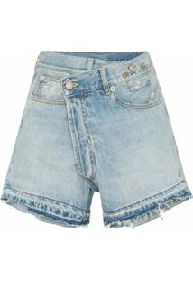 R13 Short Jeans - Azul