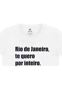 Blusa Feminina Manga Curta - Especial Rio De Janeiro