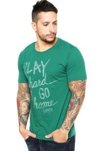 Camiseta Sommer Play Verde