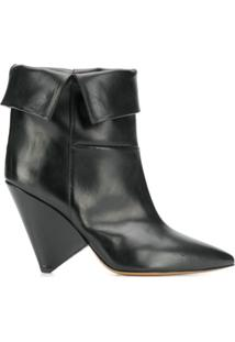 Isabel Marant Ankle Boot Luliana - Preto