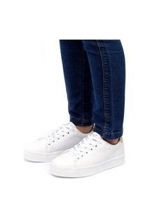 Tênis Sapatênis Casual Macio Jl Shoes Branco
