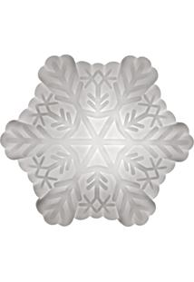 Luminária Casa Da Mãe Joana Floco De Neve Branco