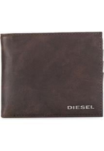 Diesel Carteira Hiresh S - Marrom