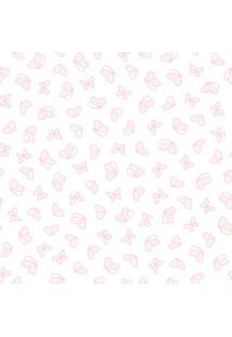 Papel De Parede Lyam Decor Revoada Rosa Rosa