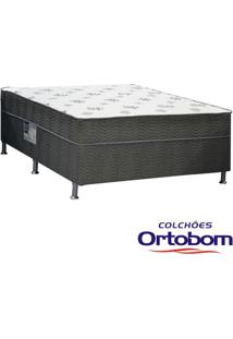 Cama Box Conjugada Casal Dream Spring De Molas Bonnel - Ortobom