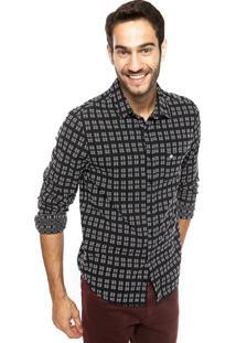 Camisa Cavalera Miguel Preta