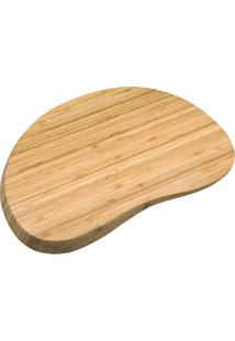 Tábua Irregular Arredondada De Bambu 36Cm - Oikos