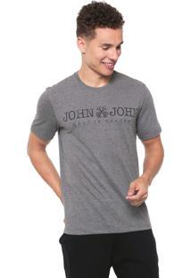 Camiseta John John Jj Basic Cinza