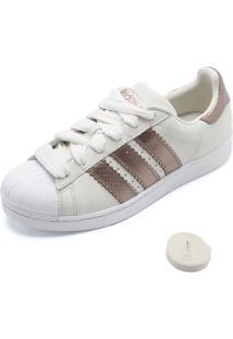 Tênis Adidas Originals Superstar W Off-White
