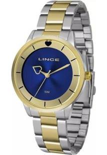 Relógio Lince Lrt4572L D1Sk Feminino - Feminino-Prata