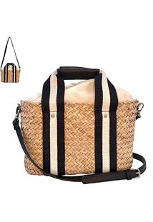Bolsa Crossbody Palha Natural