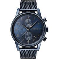 dbfc7643c30 Relógio Hugo Boss Masculino Aço Azul - 1513538