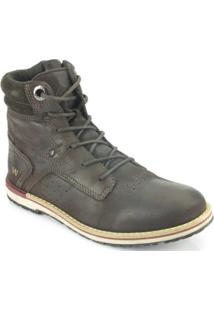 Bota West Coast Rodeo Brushoff - Masculino-Café