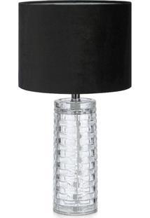 Abajur Lamp Show Amora Preto - Kanui