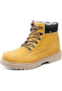 Bota Eco Canyon First Amarelo