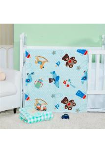 Cobertor Manta Bebe Baby Flannel Fofo - Petit