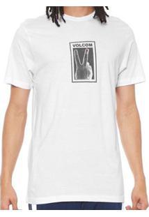 Camiseta Volcom Silk Slim Peace - Masculino