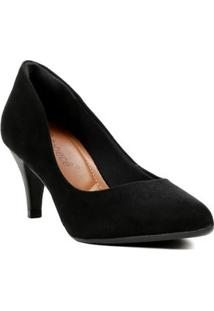 Sapato De Salto Feminino Preto
