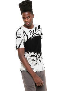 Camiseta Mcd Tie Dye Cinza/Preta