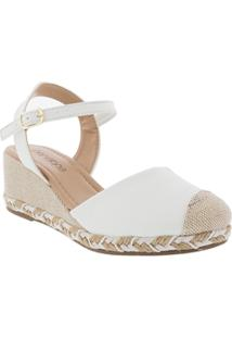 Espadrille Penélope Anabela Off White
