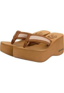 Tamanco Barth Shoes Hibisco Feminino - Feminino-Caramelo