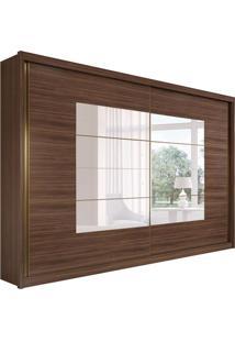 Guarda-Roupa Casal Com Espelho Toronto Plus Flex 2 Pt 6 Gv Imbuia