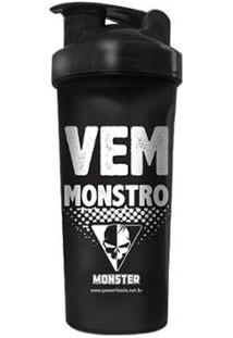 Coqueteleira Vem Monstro 700 Ml Powerfoods - Unissex