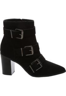 Ankle Boot Triple Belt Black | Schutz