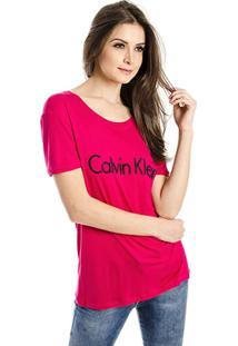 Camiseta Caviar Calvin Klein - Feminino-Pink
