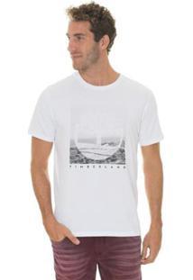 Camiseta Timberland Kennebec Rv Photographic Regular Masculina - Masculino
