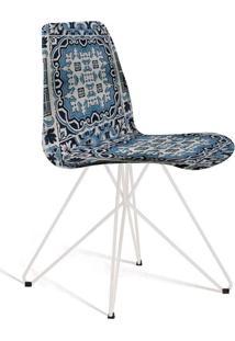 Cadeira De Jantar Eames Butterfly Estampada