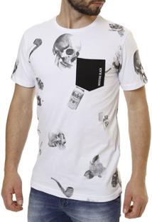 Camiseta Industrie Caveiras - Masculino