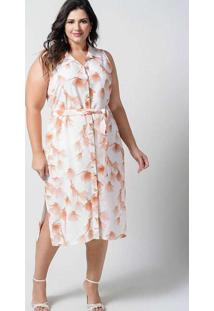 Vestido Midi Almaria Plus Size New Umbi Chemise La