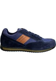 Tênis Masculino West Coast Camurça Jeans 126910-1 - Masculino