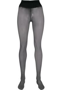 Wolford Meia-Calça Individual 10 - Azul