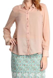 Camisa Lisa Energia Fashion Nude