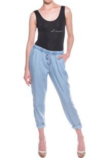 Calça Unique Pijama Jeans Azul