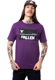 Camiseta Fallen Board Roxo