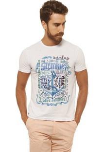 Camiseta Joss - I Love Shutter - Masculina - Masculino-Branco