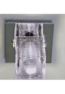 Plafon Bell Vidro 1G9 8Cm Vt2041C Bella